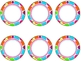 Polka Dot Circle Labels {Editable}
