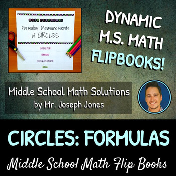 Circle Measurement Forumlas Flip Book