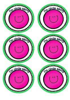 Circle Savvy Badges