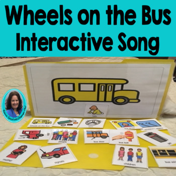 Circle Time Fun Choice Making Wheels on the Bus Song