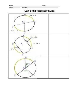 Circle Theorems Study Guide