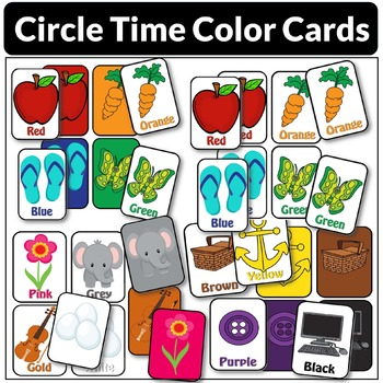 Circle-Time Color Cards