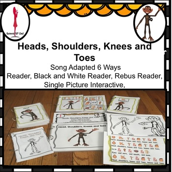 Circle Time Fun Song, Head, Shoulder, Knees and Toes Adapted