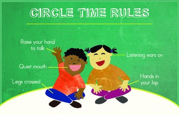 Circle Time Rule Chart