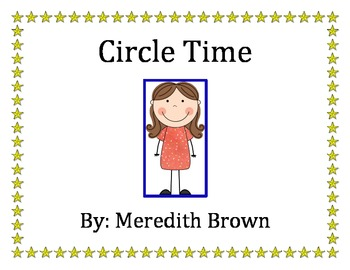 Circle Time Social Story with Behavior Management Tool