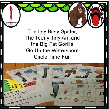 Itsy Bitsy Spider, Ant and Gorilla: Poem, Sequence, Follow