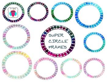 Super Circle Frames