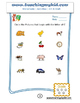 Preschool worksheets of Circle the Picture that begin with