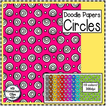 Circles - Doodle Papers