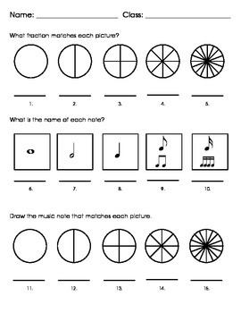 Circles-Fractions-NOTES!