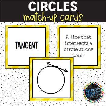 Circles Match-Up; Geometry
