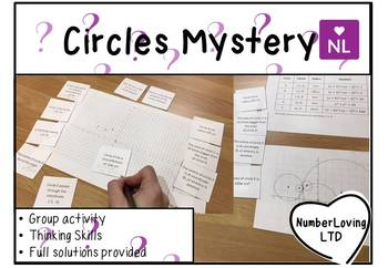 Drawing Circles Pi Day Special (Mystery)