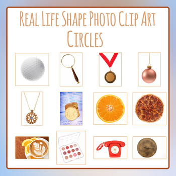 Circles - Real Life Shapes Photo Clip Art for Commercial Use