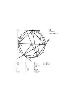 CircleTest- Geometry (angles of a circle)