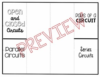 Circuits Foldable: 3 Options