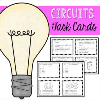 Electricity - Circuits Task Cards