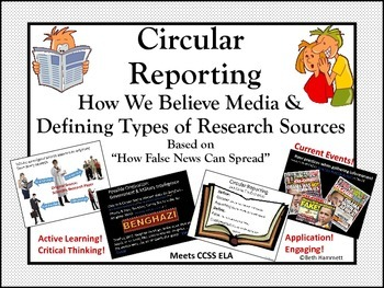 Circular Reporting: How False News Spreads