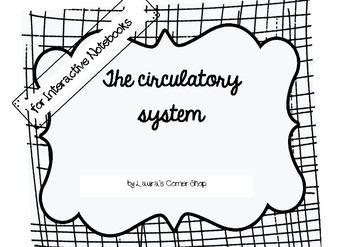 Circulatory System: Interactive Notebooks