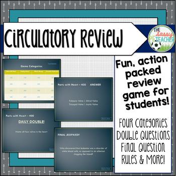Circulatory System Review Game