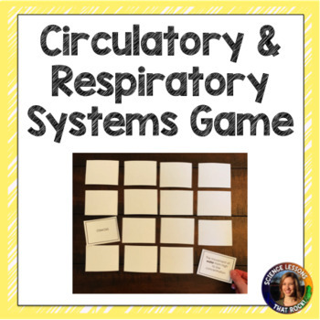 Circulatory System- Matching Game