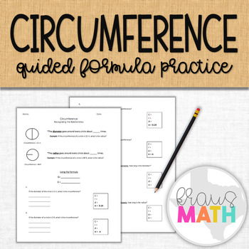 Circumference Notes