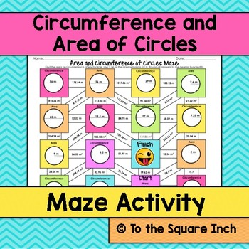 Circumference and Area Maze