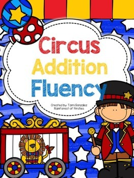 Circus Addition Fluency