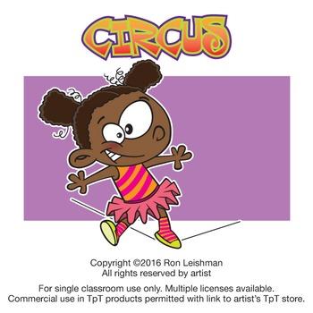 Circus Cartoon Clipart