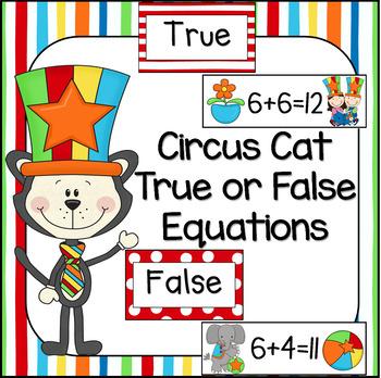 Circus Cat True/False Equations