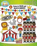 Circus Fun Clip Art Set — Includes 70 Graphics!