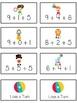 Circus Fun Fun Math Folder Game Adding Three 3 Addends Par