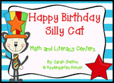Happy Birthday Silly Cat! - Math and Literacy Centers