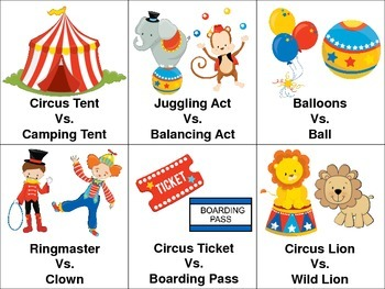 Circus Language Packet