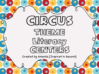 Circus Literacy Centers