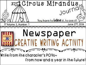 Circus Mirandus by: Cassie Beasley-Newspaper Creative Writ