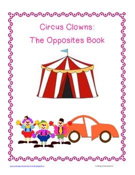 Circus Opposites-The Langauge Activity