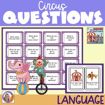 WH questions: circus questions