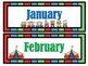 Circus Theme Calendar Kit