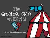 Circus Theme Classroom Decor