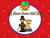 Circus Theme PowerPoint Game Template
