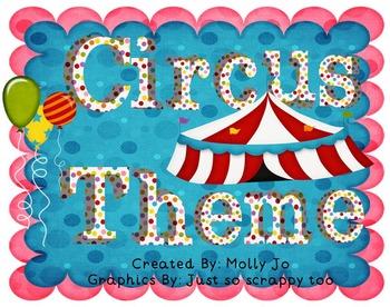 Circus Theme Classroom Decor!