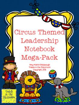 Circus Themed Leadership Notebook