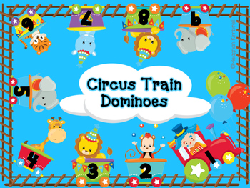 Circus Train Dominoes
