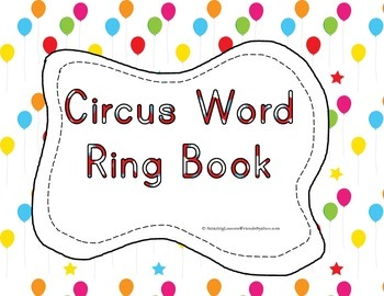 Circus Word Ring Book