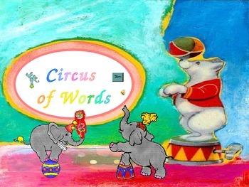 Circus Words K.4 - Kindergarten Sight Words