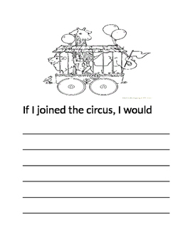 Circus Writing Prompt