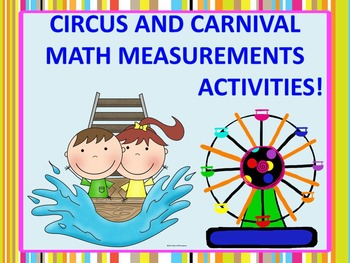 Measurement Activities: Word Problems (Circus and Carnival)