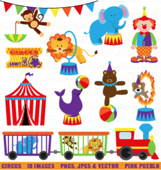 Circus or Carnival Clipart and Vectors