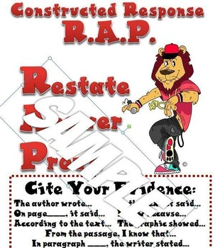 Cite Evidence Constructed Response RAP