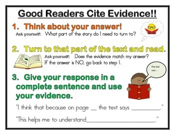 Cite Evidence Poster